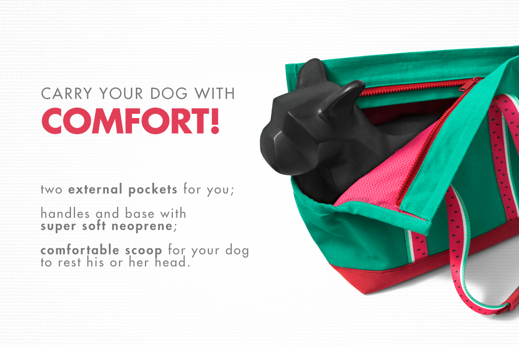 Lola Dog Carrier - Confort | Zee.Dog