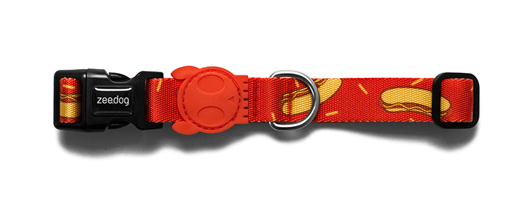 Hot Dog - Dog Collar | Zee.Dog