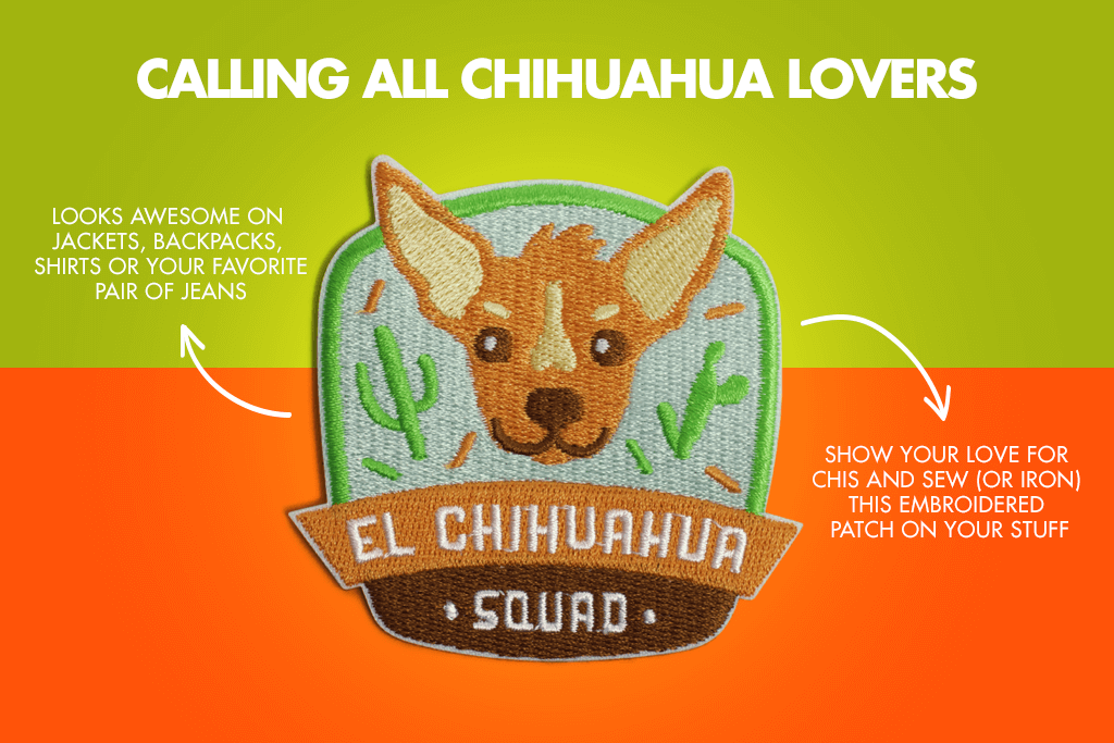El Chihuahua Squad Dog Patch - Calling all Chihuahua Lovers | Zee.Dog