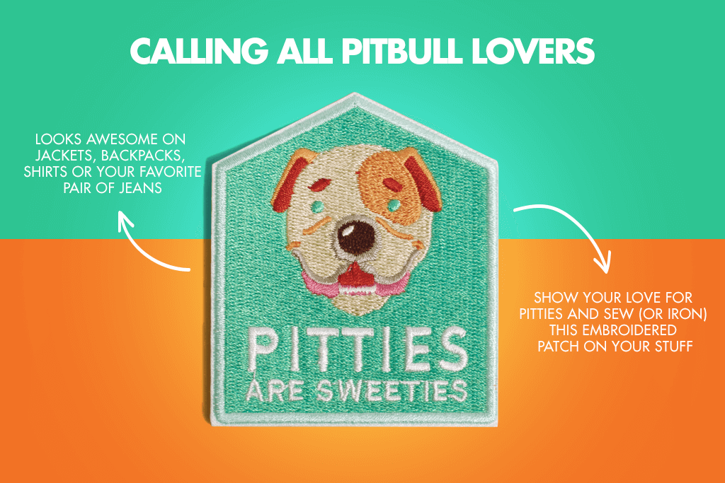 Pitties are Sweeties Calling all Pitbull Lovers | Zee.Dog