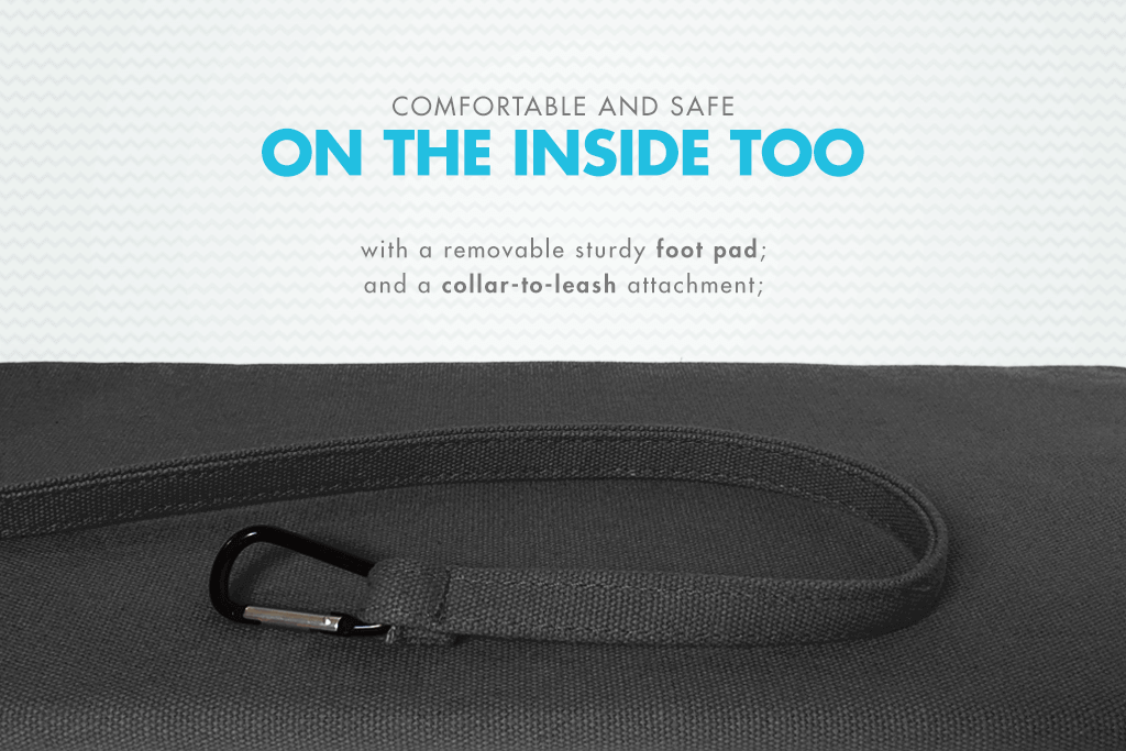 Monoby Dog Carrier - Inside | Zee.Dog