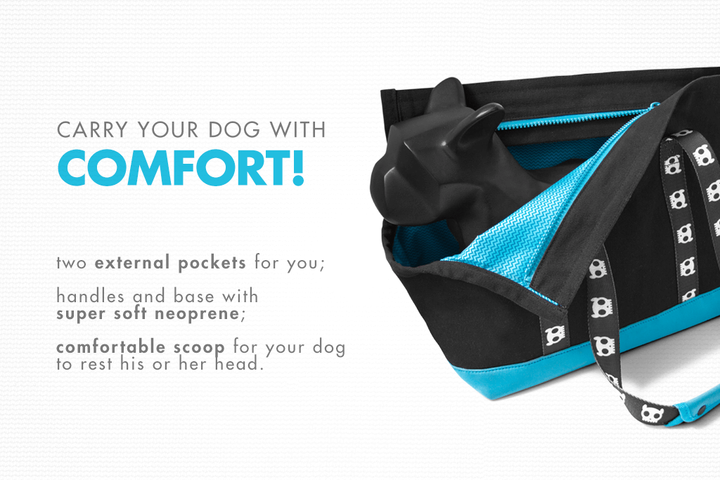 Monoby Dog Carrier - Comfort | Zee.Dog
