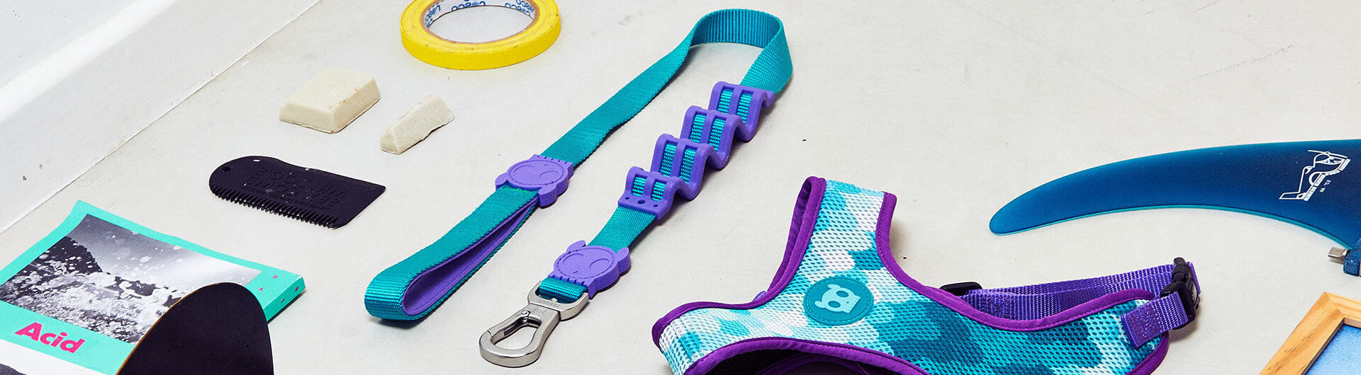Mermaid Ruff Leash | Zee.Dog