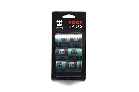 Green/Brown | Dog Poop Bags