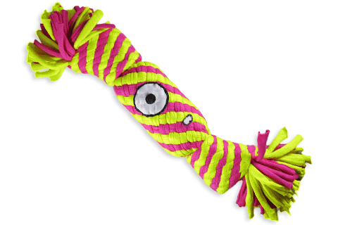 Alien Flex Candyman | Cotton Rope Dog Toy