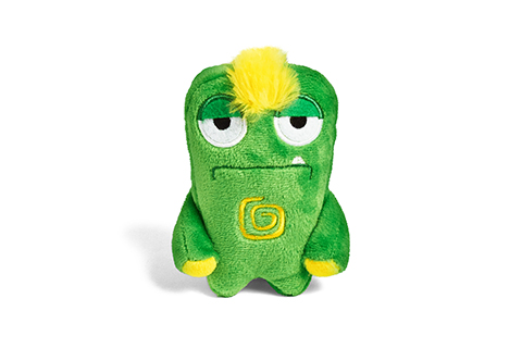 Alien Flex Mini Gro | Plush Dog Toy