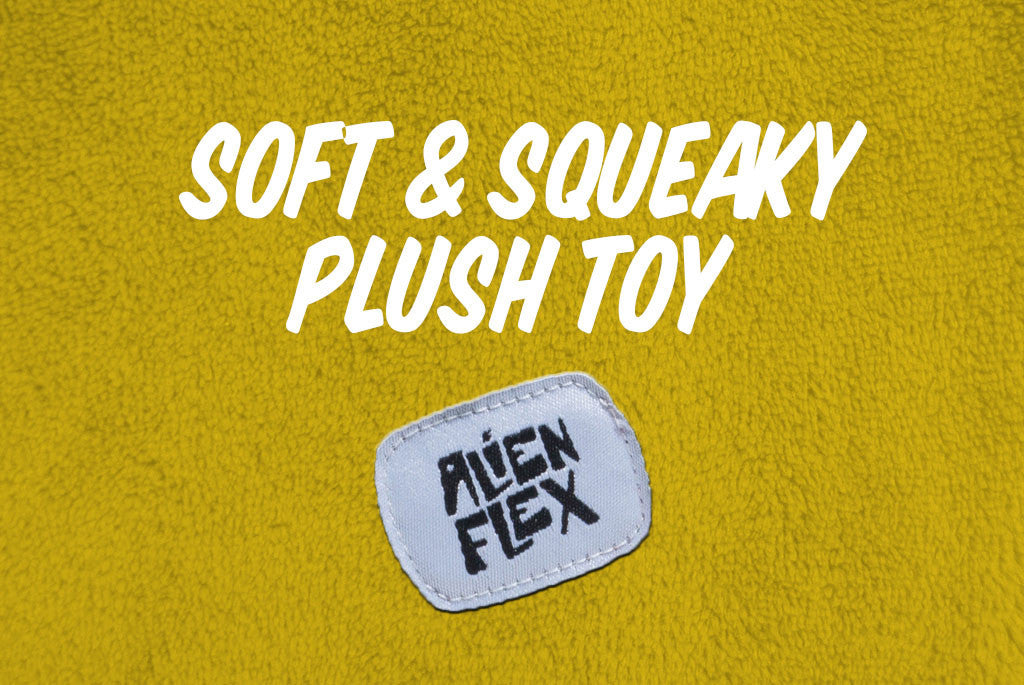 Alien Flex Z-49 Dog Toy - Soft and Squeaky | Alien Flex