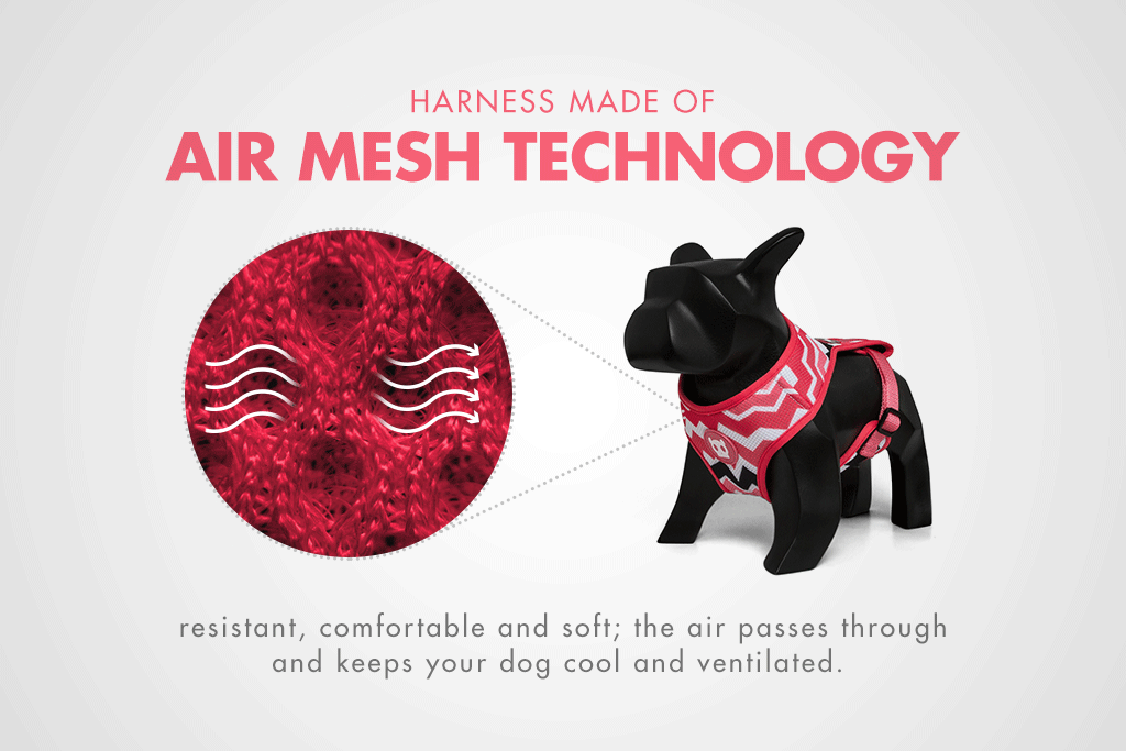 Maui | Mesh Plus Dog Harness