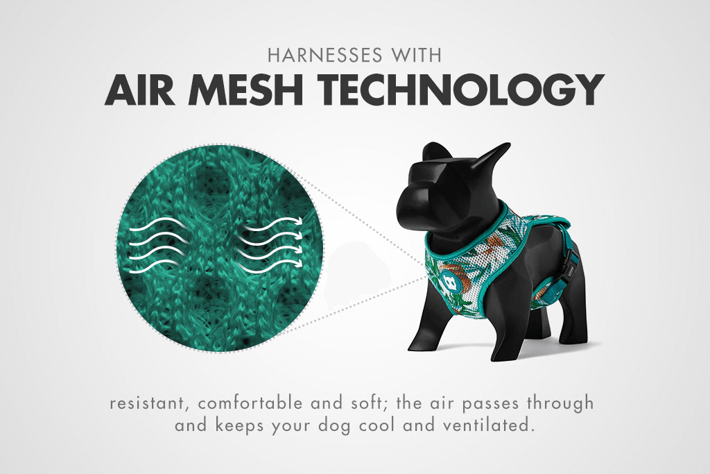 McZee Mesh Plus Harness Feature | Zee.Dog