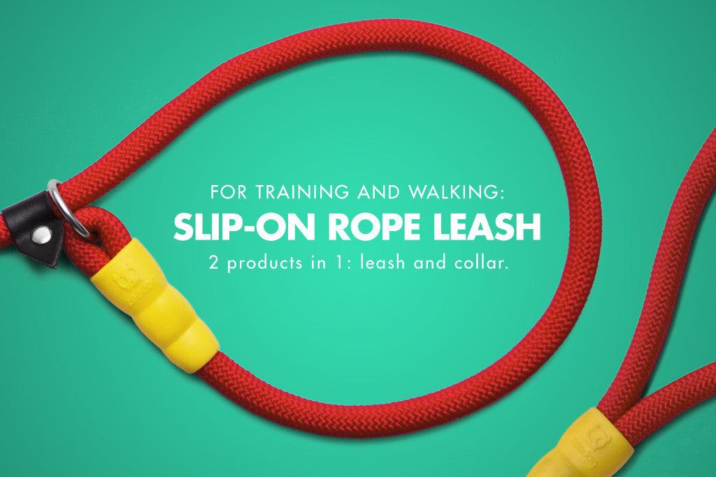 Peralta Slip-on Dog Leash | Zee.Dog