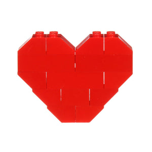 Dee and Ricky LEGO Heart (Red)