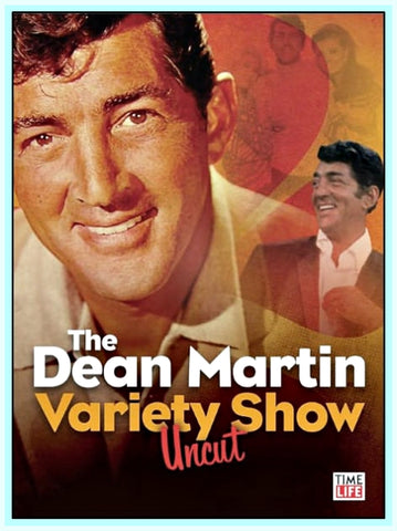 DEAN MARTIN - VARIETY SHOW - COMPLETE -  UNCUT  - 6 SHOWS IN 6 DVDS!