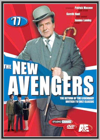 NEW AVENGERS - TV SERIES - 14 DVDS - TV COLLECTION