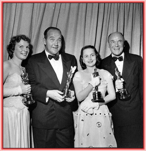 """22nd ANNUAL ACADEMY AWARDS CERIMONY"" - 3/23/50 - ""RARE"""
