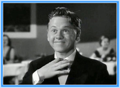 "THE MICKEY ROONEY SHOW - EPISODE 7 - 1954 - RARE - ""DIGITAL PRODUCT"""