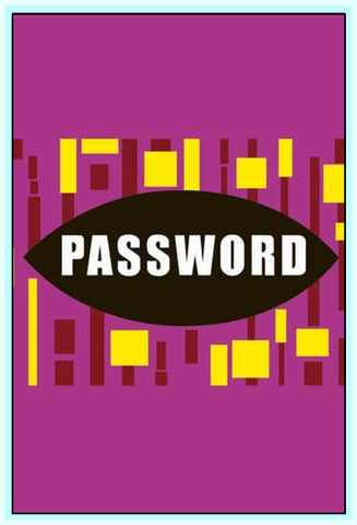 PASSWORD! - American TV GAME SHOW (1961) - 9 DVDS!