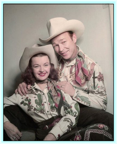ROY ROGERS AND DALE EVANS - AT THE NASHVILLE PALACE - RARE DVD