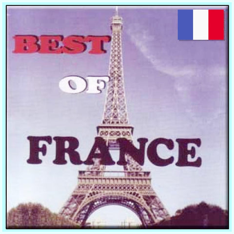 THE BEST OF FRANCE - 33 VIDEOS - MANY ARTISTS - 1 DVD