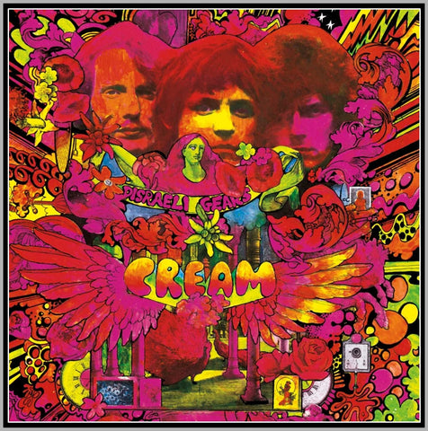 CREAM - 1967 - 1993 - CREAM ON THE CROP - 1 DVD