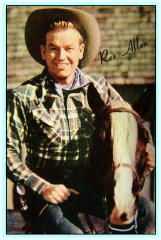 REX ALLEN - THE SINGING COWBOY IN CONCERT - DVD