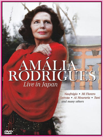 """AMÁLIA RODRIGUES"" LIVE IN JAPAN ""DVD"" - 1986"