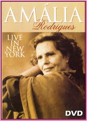 """AMÁLIA RODRIGUES"" LIVE IN NEW YORK 1990 - ""DVD"""