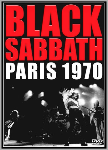 BLACK SABBATH - OLYMPIA - PARIS - 1970 - 1 DVD