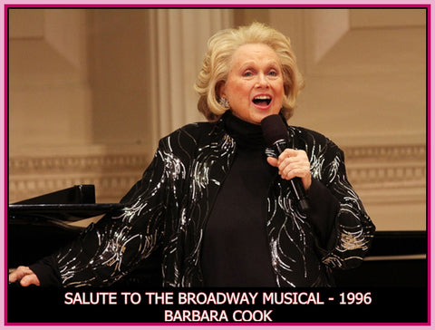 """ALL THE WORLD'S A STAGE - CARNEGIE HALL - SALUTE TO THE BROADWAY MUSICAL - DVD"