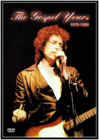 BOB DYLAN - THE GOSPEL YEARS - 1979 - 1980 - 1 DVD