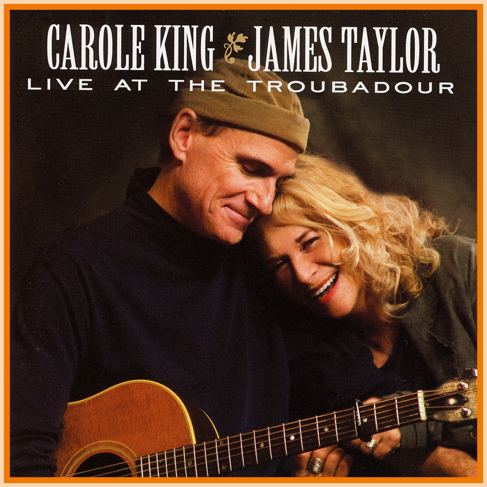 BBC IN CONCERT - 1 DVD - JAMES TAYLOR DUET WITH CAROLE KING - 1971