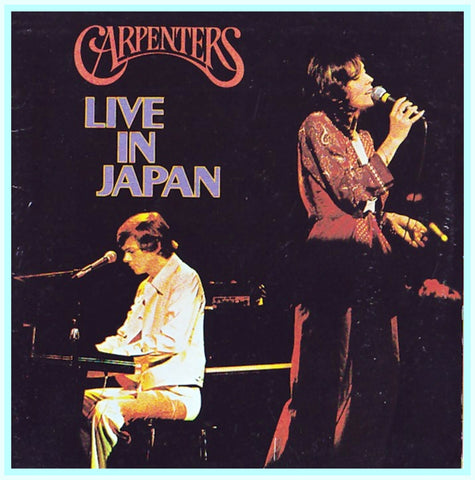 THE CARPENTERS - IN JAPAN, 1993 - RARE DVD