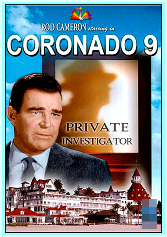 CORONADO 9 - TV SERIES - 1960 - ROD CAMERON - 6 DVDS