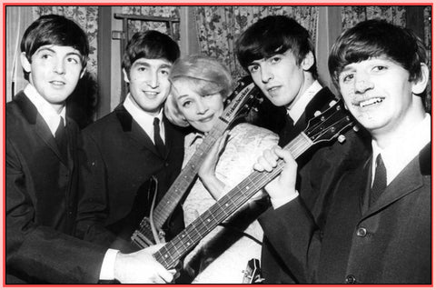 "1963 - ""ROYAL VARIETY PERFORMANCE "" RARE DVD - BEATLES - MARLENE DIETRICH!"