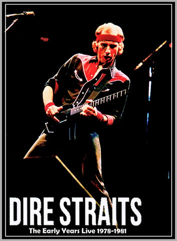 DIRE STRAITS - THE EARLY YEARS - 1978 - 1981 - DVD