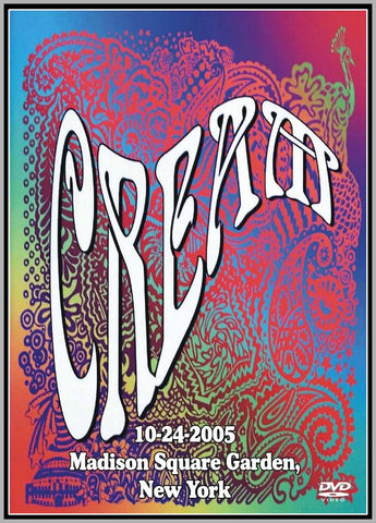 CREAM - LIVE AT MADISON SQUARE GARDEN - 2005 - 1 DVD