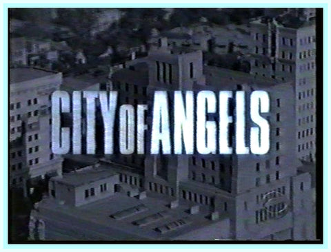 CITY OF ANGELS - STARRING - WAYNE ROGERS - 1930'S - DVD