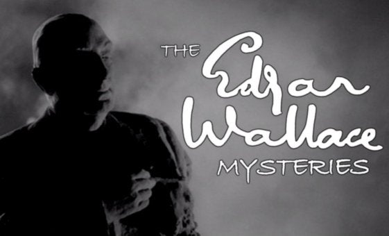 EDGAR WALLACE MYSTERY COLLECTION UK SERIES - 15 DVDS