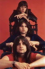 EMERSON LAKE & PALMER RARE COLLECTION - 9 DVDS