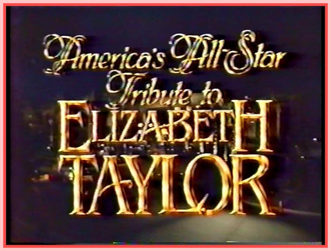"""ALL-STAR"" - TRIBUTE TO ""ELIZABETH TAYLOR"" DVD"