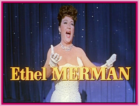 ETHEL MERMAN VIDEO COLLECTION - 1960 - 1980 - DVD