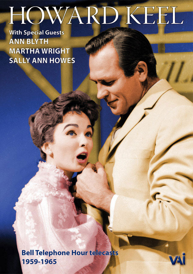 HOWARD KEEL: Bell Telephone Hour 1959-1965 (DVD) - ANN BLYTH - SALLY ANNE HOWES