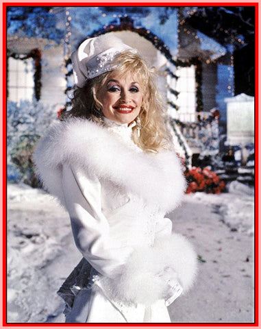 DOLLY PARTON: CHRISTMAS AT HOME - WITH FAMILY AND FRIENDS - 1990 - RARE DVD