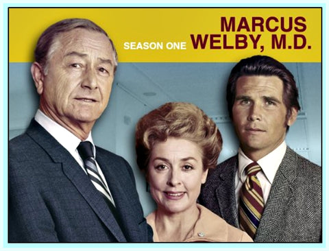 MARCUS WELBY, MD – STARRING - ROBERT YOUNG - DVD