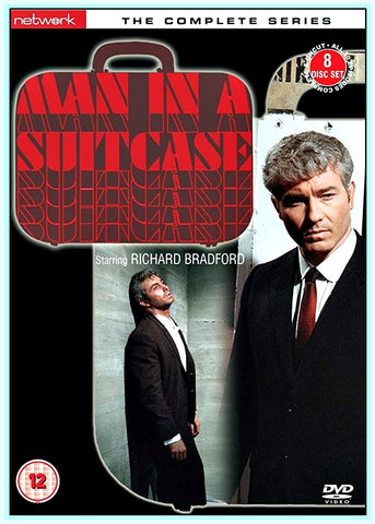 MAN IN A SUITCASE - COMPLETE - TV SERIES - DVDS