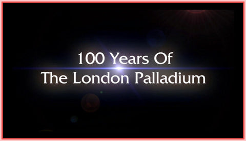 """100 YEARS OF THE LONDON PALLADIUM"" - RARE DVD"