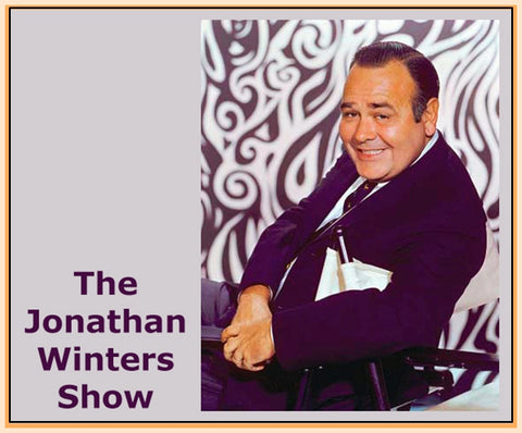"""THE JONATHAN WINTERS SHOW"" -  1957 - JERI SOUTHERN, BETTY JOHNSON - RARE DVD"