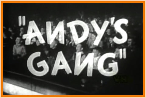 ANDY'S GANG - ANDY DEVINE - DVD