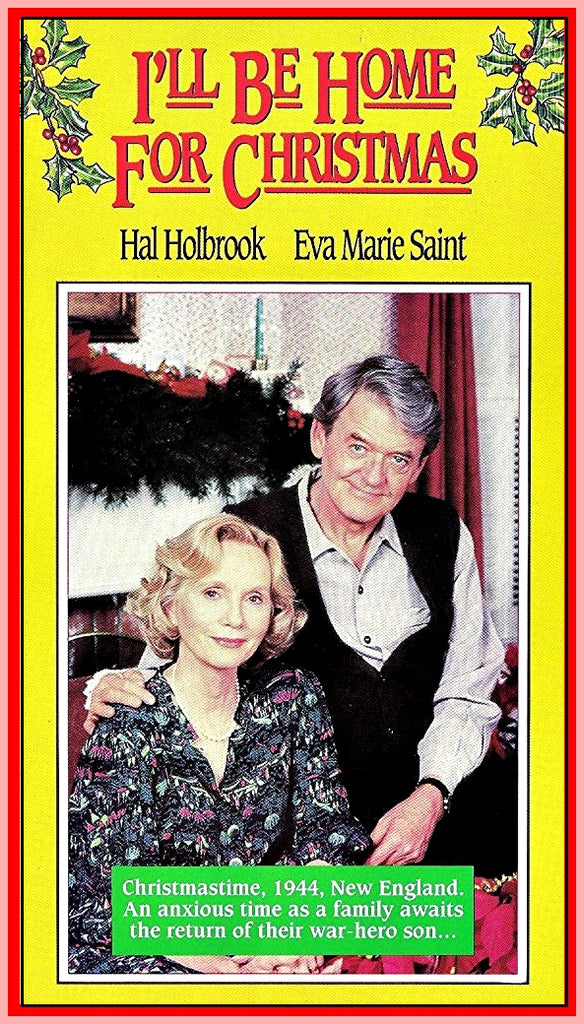 I'LL BE HOME FOR CHRISTMAS - MOVIE WITH HAL HOLBROOK - 1988 - RARE DVD