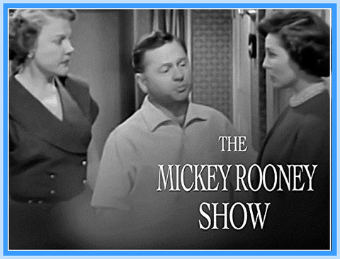 "THE MICKEY ROONEY SHOW - THE LION HUNT - 1954 - RARE - ""DIGITAL PRODUCT"""