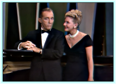 THE BING CROSBY SHOW WITH MARY MARTIN  - RARE COLOR 1962